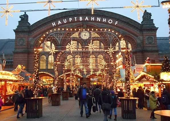 Bremen Weihnachtsmarkt.Weihnachtsmarkt